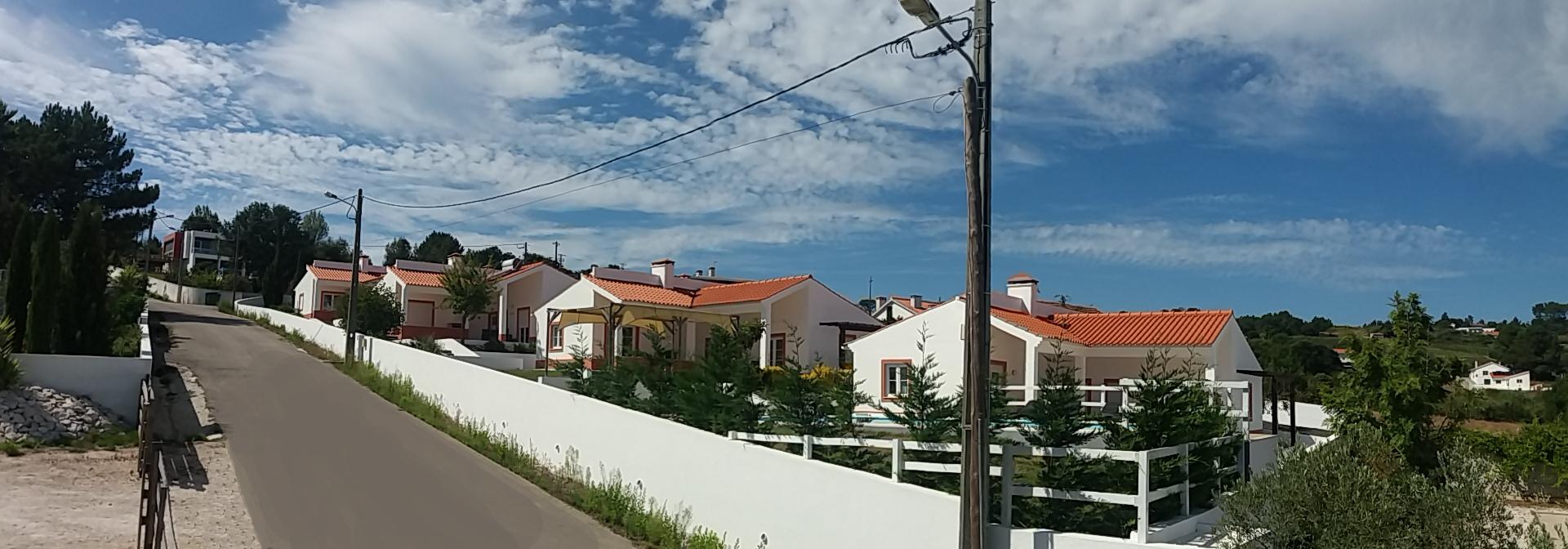 De ligging van de casas
